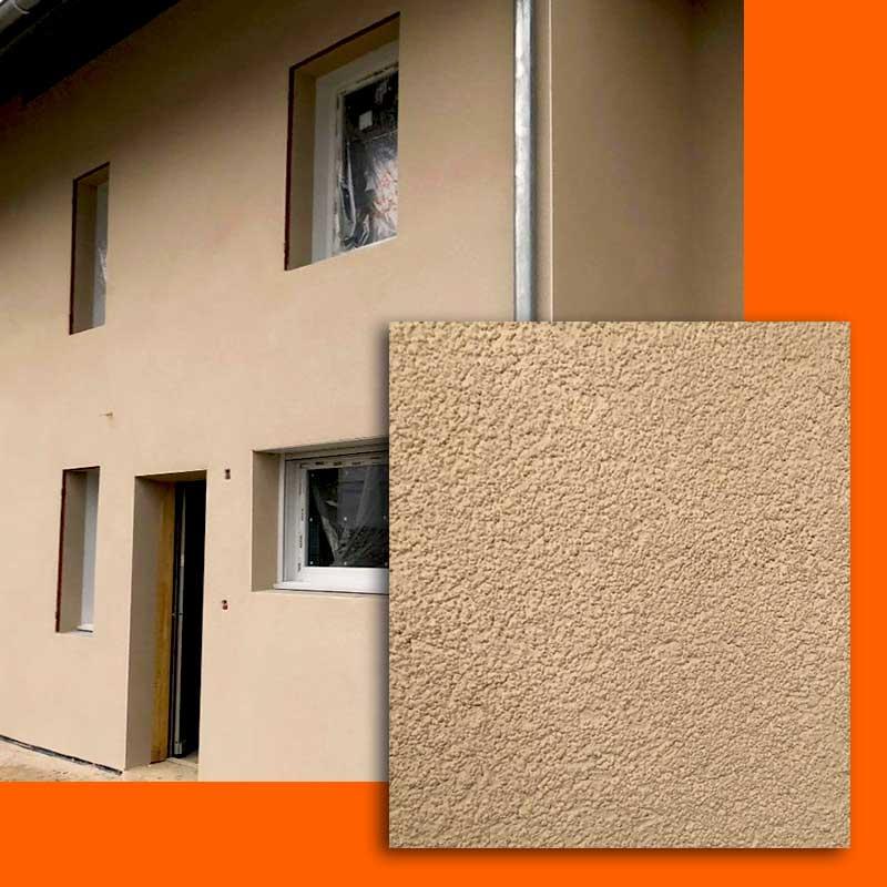 Ravalement de façades - Enduit : GF FAÇADES votre spécialiste en traitement de façades, projection d'enduit traditionnel. En SAVOIE à CHAMBERY